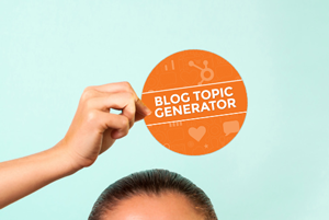 Don't Know What to Write About? Get Ideas From the Blog Topic Generator [Free Tool]