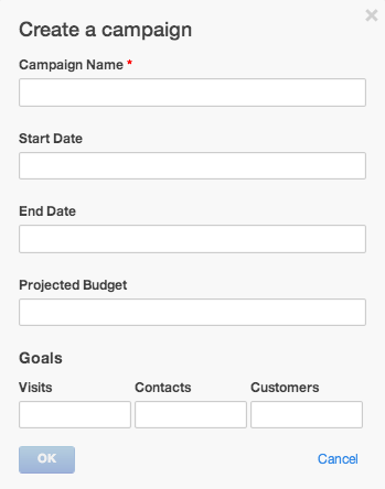Create a Campaign View