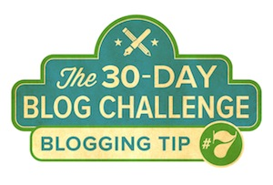 30-Day Blog Challenge Tip #7: Don't Do It Alone