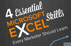 Not Just for Data Geeks? Why Marketers Need to Know Excel
