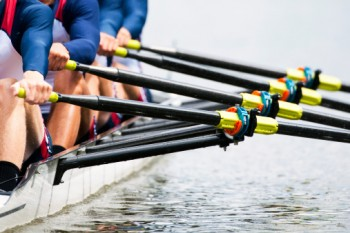 rowing-together
