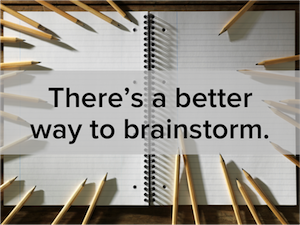 How to Brainstorm Content Ideas in a Fast, Easy, Visual Way