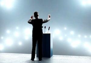Podium Speaker 3 stock image. Illustration of speaking - 49193801