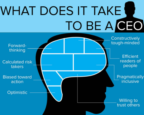 Are You Cut Out to Be a CEO? [Infographic]