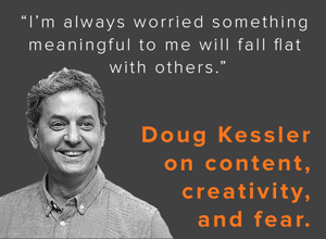 Introverts, Failed Graduation Speeches, and the Loo: Doug Kessler Spills His Writing Secrets