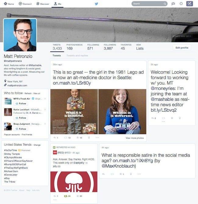 New-Twitter-Layout