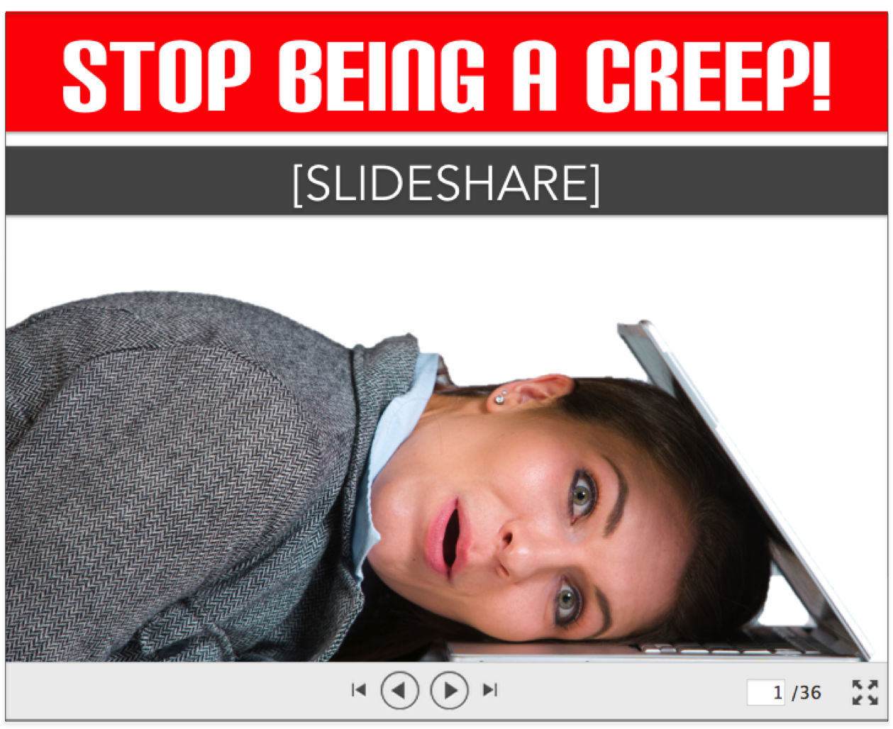 Sales Email Tracking Is Creepy & Useless Without An Engagement Strategy [SlideShare]