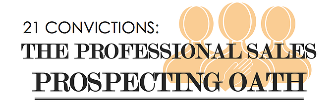 21-convictions-the-professional-sales-prospecting-oath