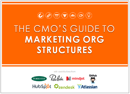 The CMO's Guide to Marketing Org Structures [SlideShare]