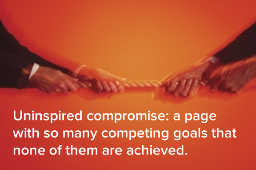Don't Let Uninspired Compromise Ruin Your Homepage