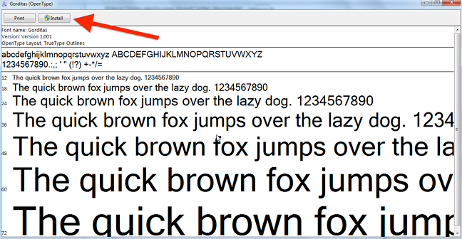 How to Install Custom Fonts on Your Computer [Quick Tip]