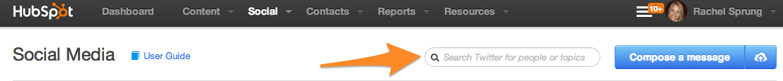 social-inbox-search