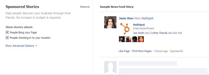 facebook-sponsored-story