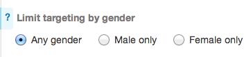 Target by gender