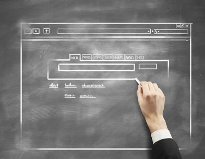 website-design-chalkboard