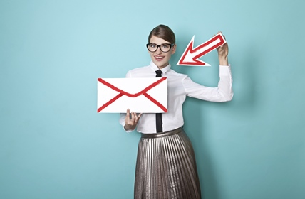 email-arrow