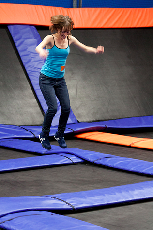 Team Outing Ideas: Trampoline Jumping