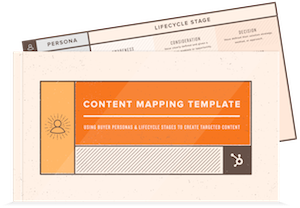 Content Mapping 101: The Template You Need to Personalize Your Marketing