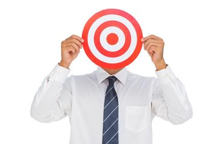 target-man