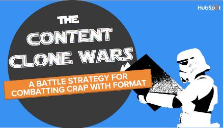 Quit Cloning Content: Battling Crap Content Through Form