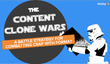 Quit Cloning Content: Battling Crap Content Through Form