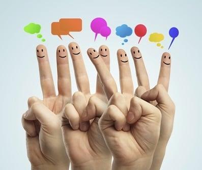 fingers-smiles-speech-bubbles