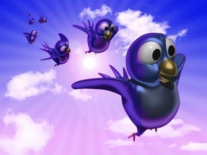 lisa-frank-esque-twitter-bird