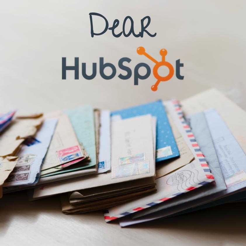Dear HubSpot