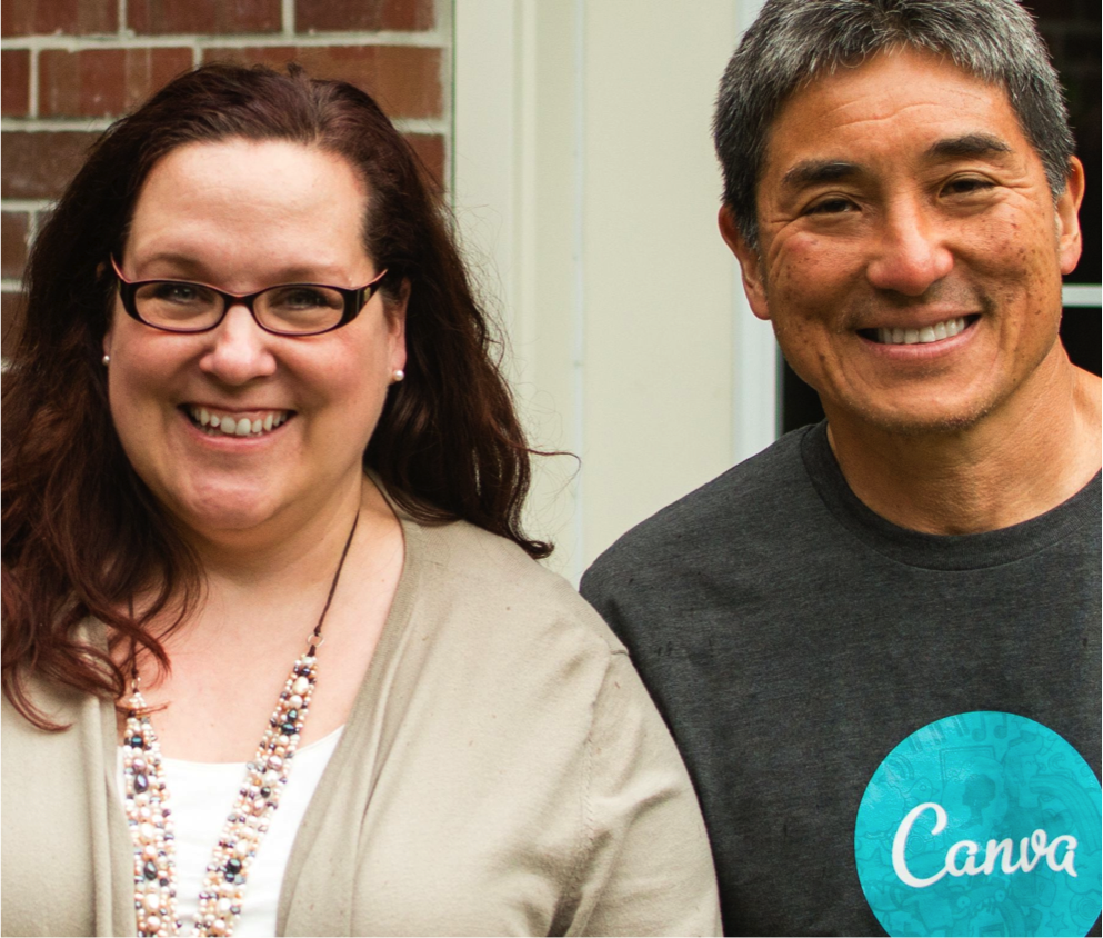 Guy Kawasaki and Peg Fitzpatrick