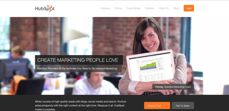 HubSpot_Homepage_2012