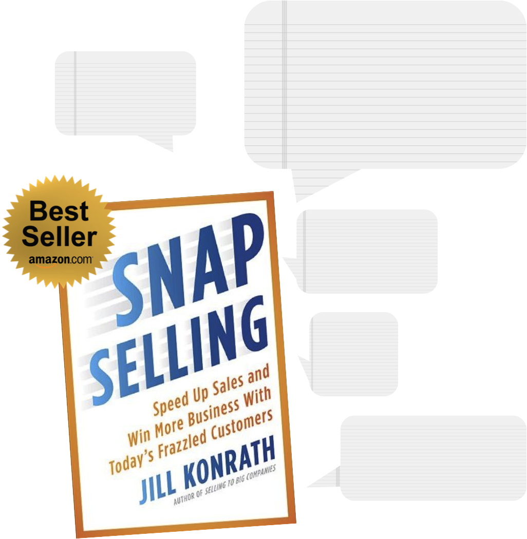5-Must Read Quotes From Jill Konrath's Book SNAP Selling