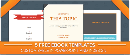 how to create an ebook from start to finish free ebook templates