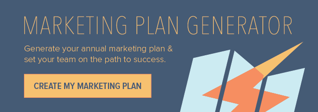 5 marketing plan examples to help you write your own page