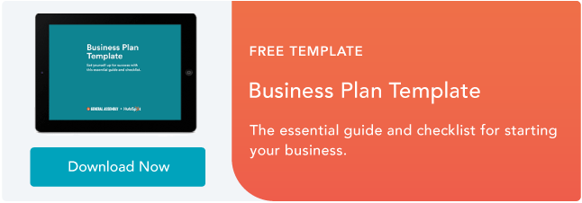 how to build a business plan that actually works free template page