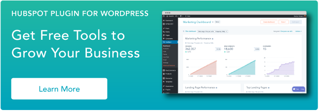 Use HubSpot tools on your WordPress website and connect the two platforms  without dealing with code. Click here to learn more.