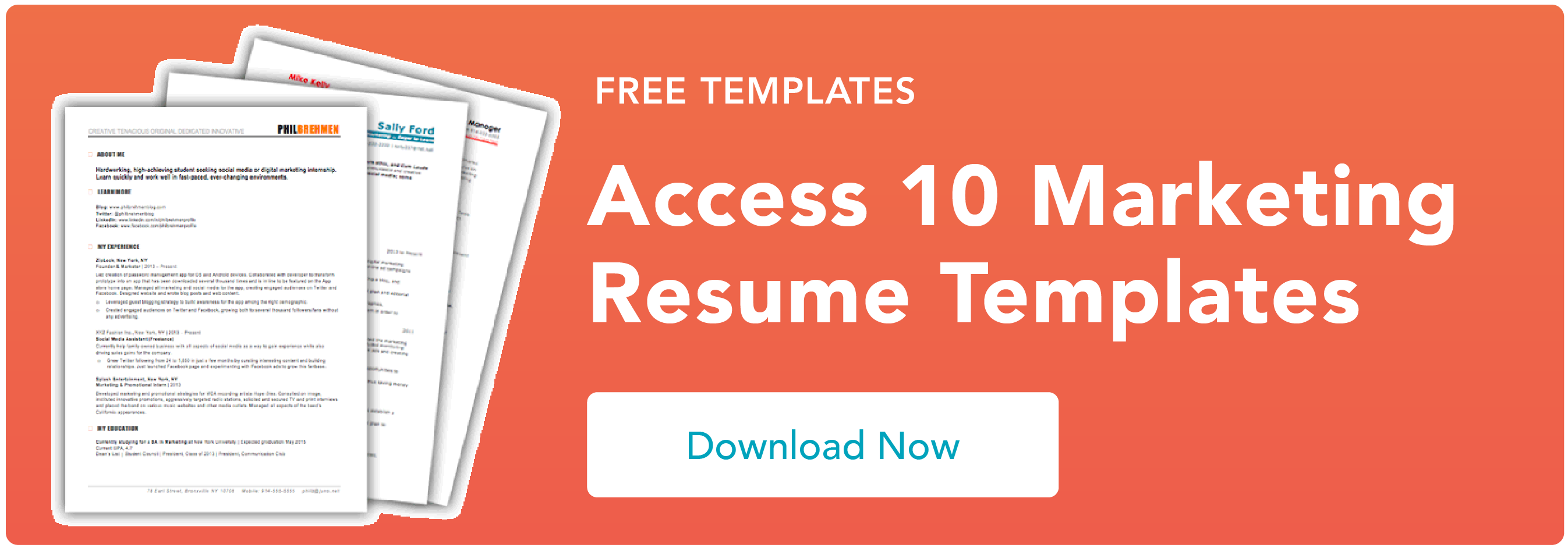 How to Write a Marketing Resume Hiring Managers Will Notice