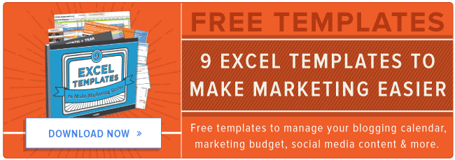9 free microsoft excel templates to make marketing easier page