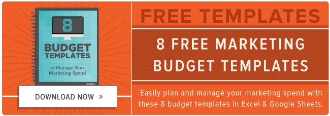 How to Manage Your Entire Marketing Budget [Free Budget
