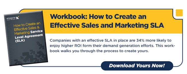 how to create an effective sales and marketing sla page