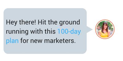 First 100 Days Marketing Job