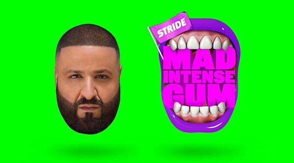 Stride Gum's influencer marketing campaign with DJ Khaled