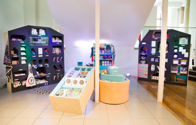 The Poundshop  15 Creative Examples of Branded Pop-Up Shops Poundshop 2