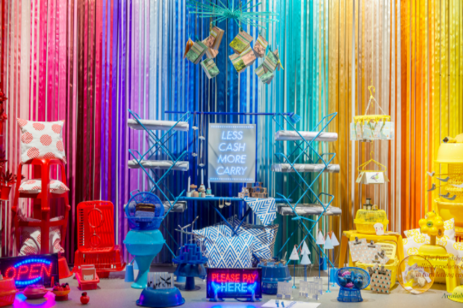 The Poundshop  15 Creative Examples of Branded Pop-Up Shops Poundshop1