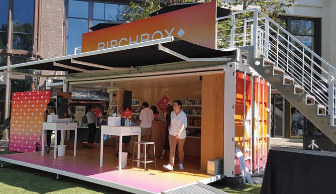 Birchbox  15 Creative Examples of Branded Pop-Up Shops birchbox popup