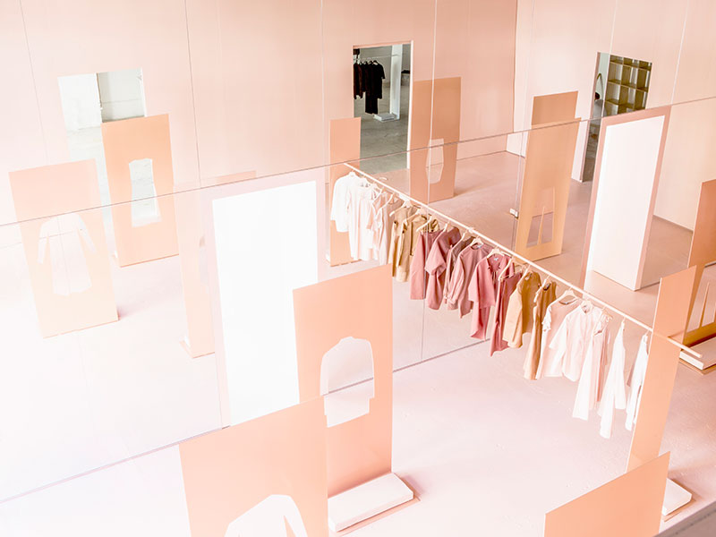 COS LA  15 Creative Examples of Branded Pop-Up Shops snarkitecture