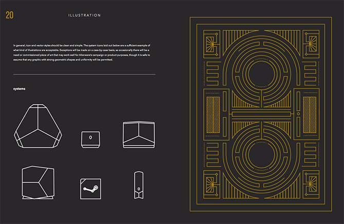 22 Brand Style Guide Examples for Visual Inspiration style alien 02