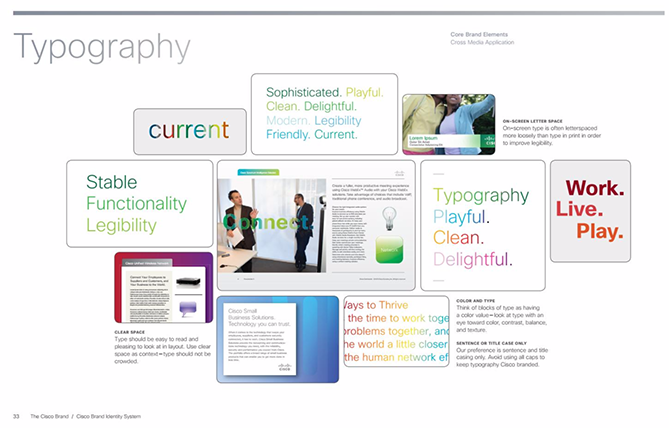 22 Brand Style Guide Examples for Visual Inspiration style cisco 02