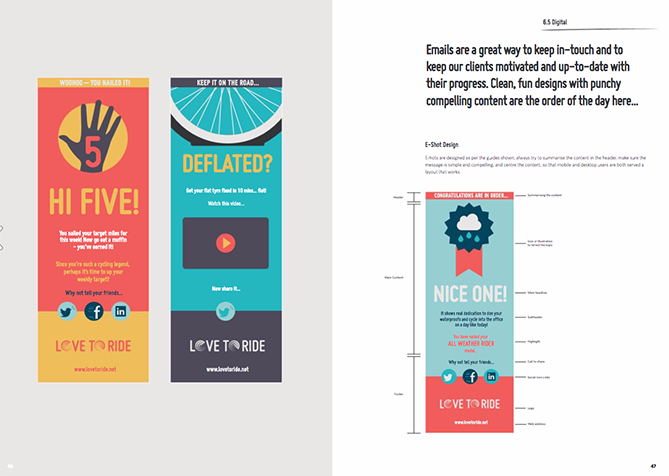 22 Brand Style Guide Examples for Visual Inspiration style ride 02