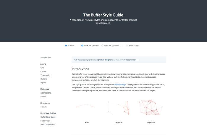 Buffer Style Guide