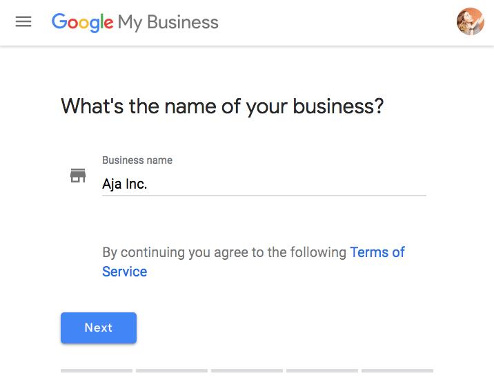 谷歌 - 我的業務,業務name.png
